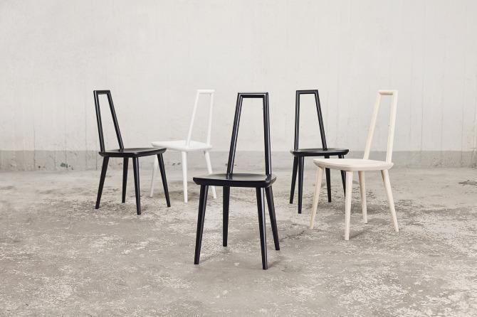 Fab Design Möbel f a b chair färg blanche